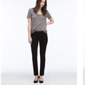 AG The Stilt Cigarette Leg Black Skinny Jeans Sz26